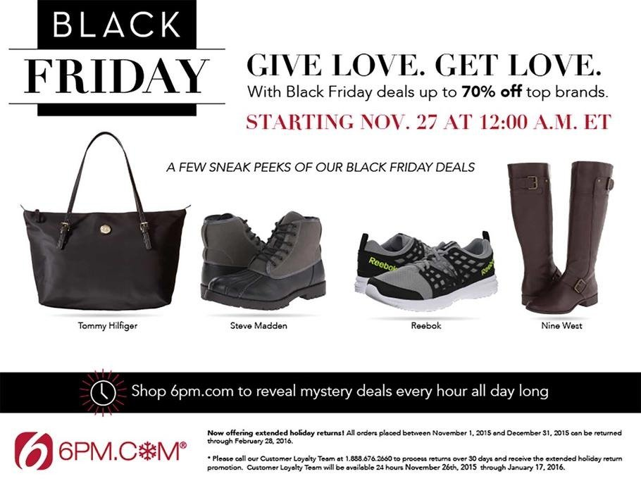 6PM 2015 Black Friday Ad Page 1