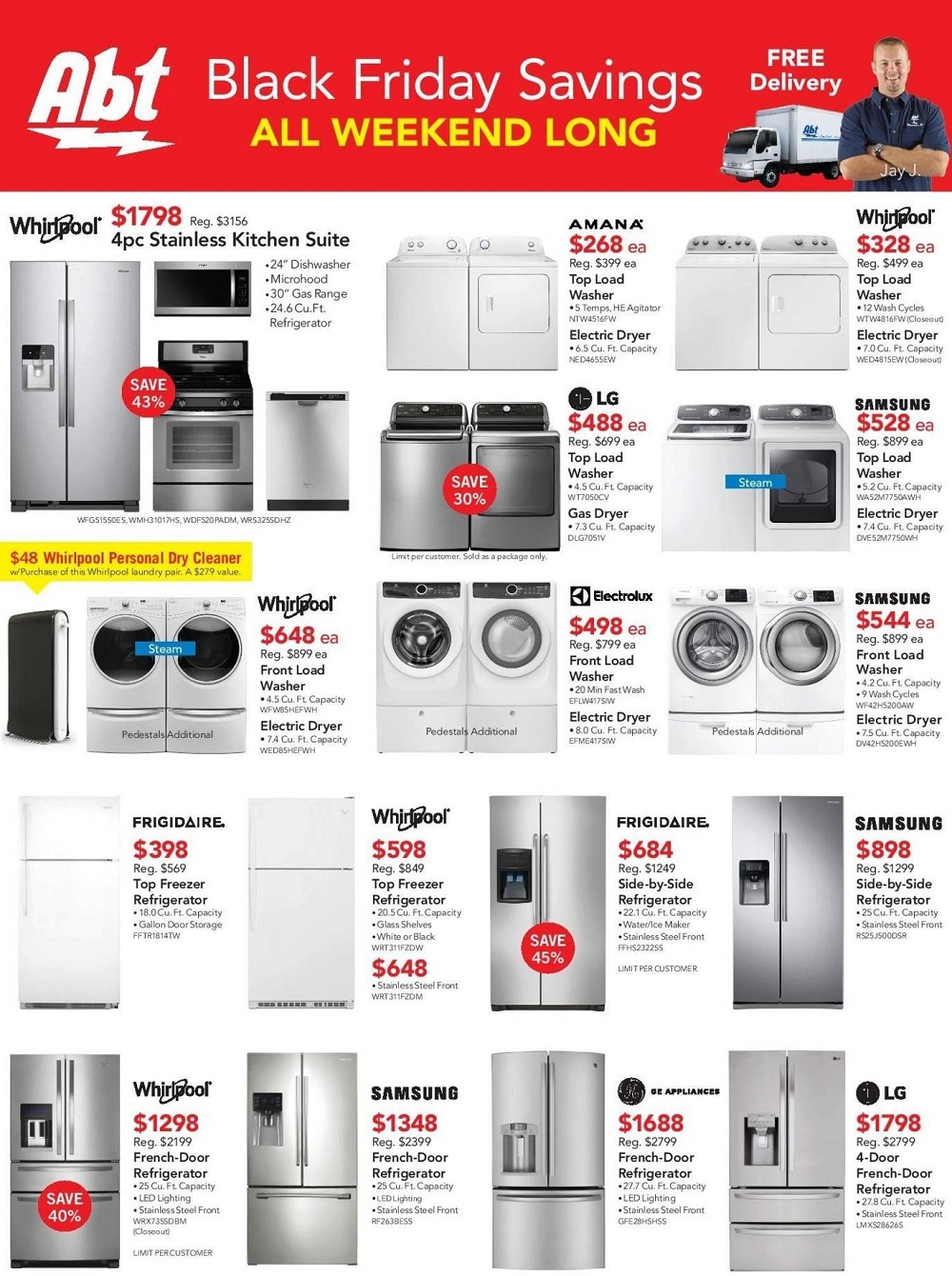Abt Electronics 2017 Black Friday Ad Page 1