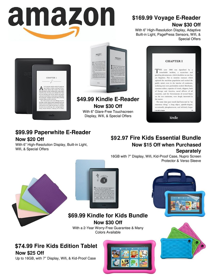 Amazon 2016 Black Friday Ad Page 1