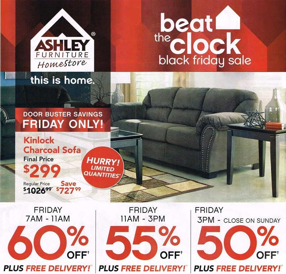 Furniture Store Black Friday Sale: Ashley Furniture Homestore 2015 Black Friday Ad