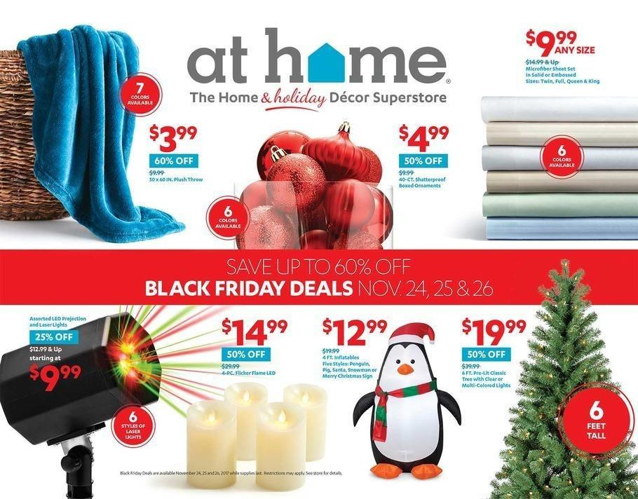 At Home 2017 Black Friday Ad Page 1