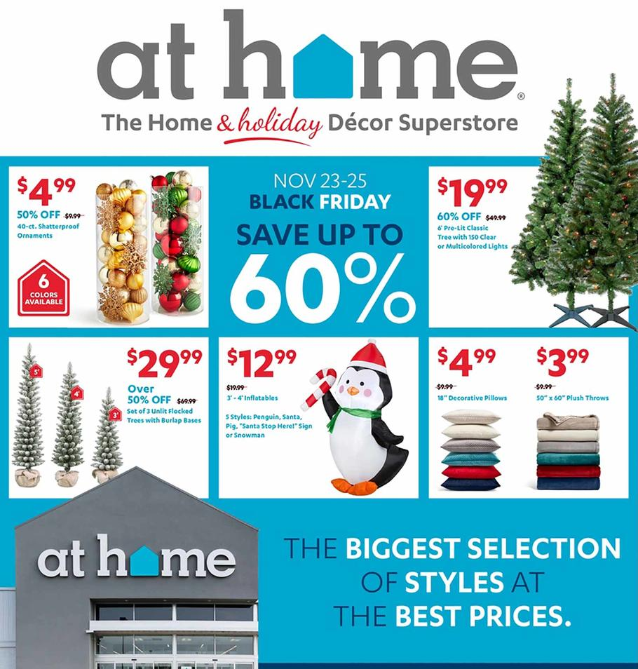 At Home 2018 Black Friday Ad Page 1