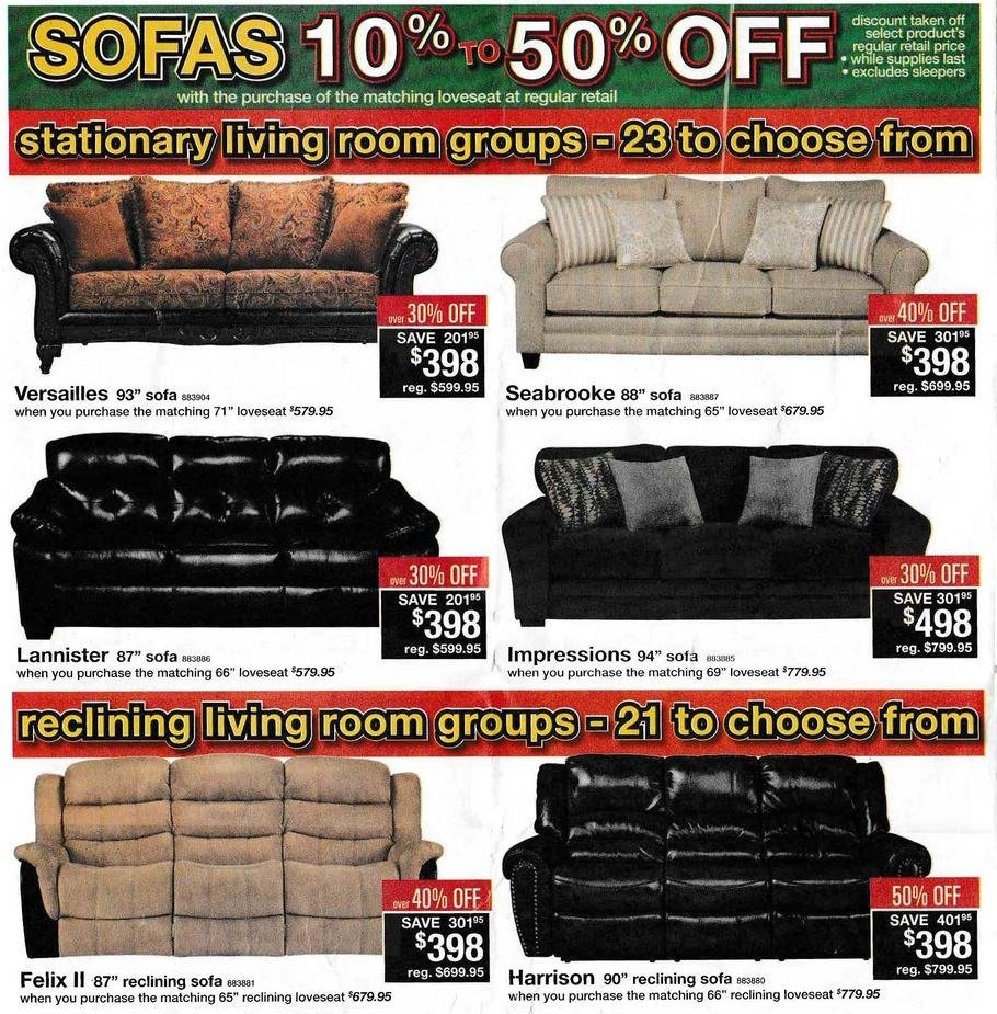 Black Friday Couch Deals: Badcock Home Furniture & More 2015 Black Friday Ad