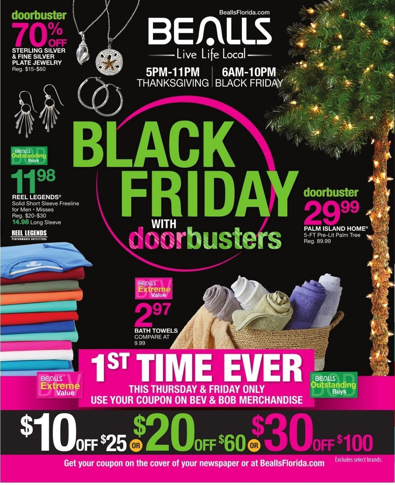Bealls Florida Black Friday 2015: Bealls Department Stores 2018 Black Friday Ad