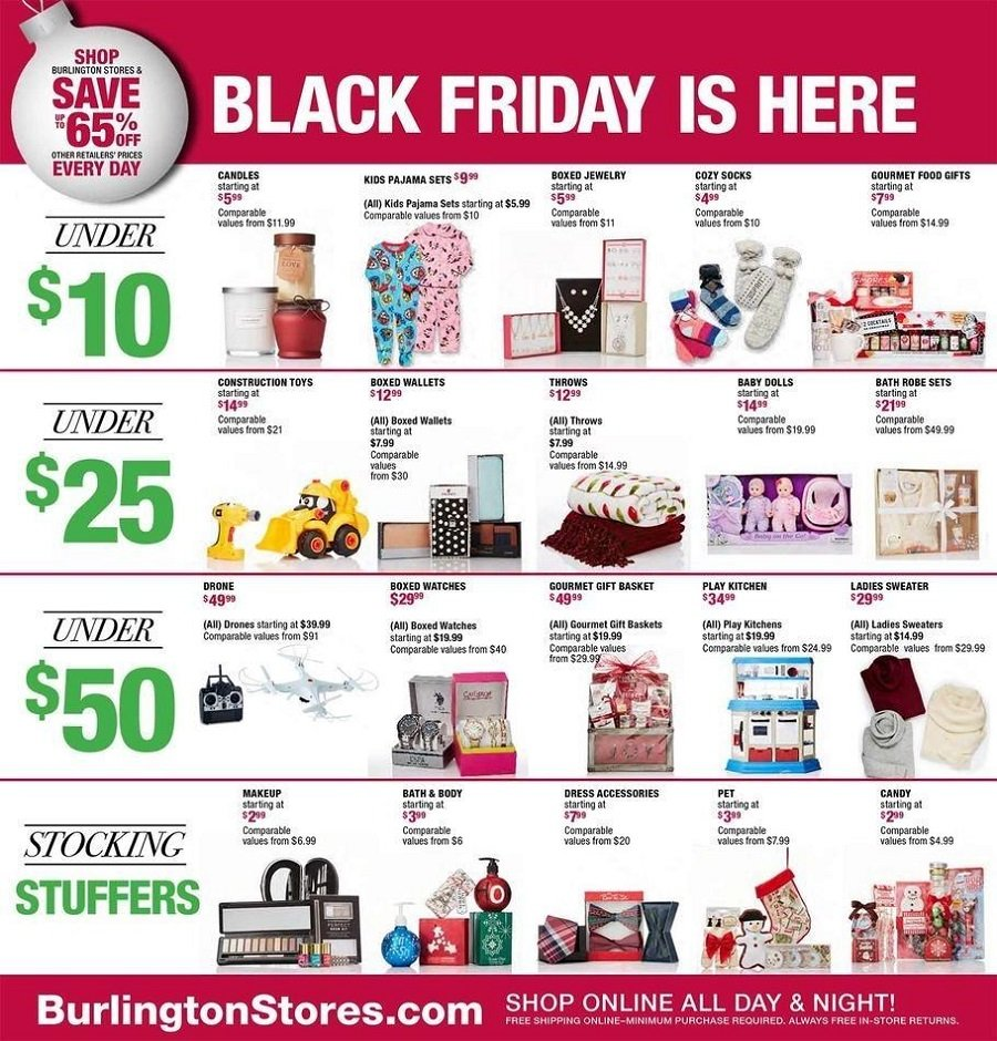 Burlington Coat Factory 2016 Black Friday Ad Page 2