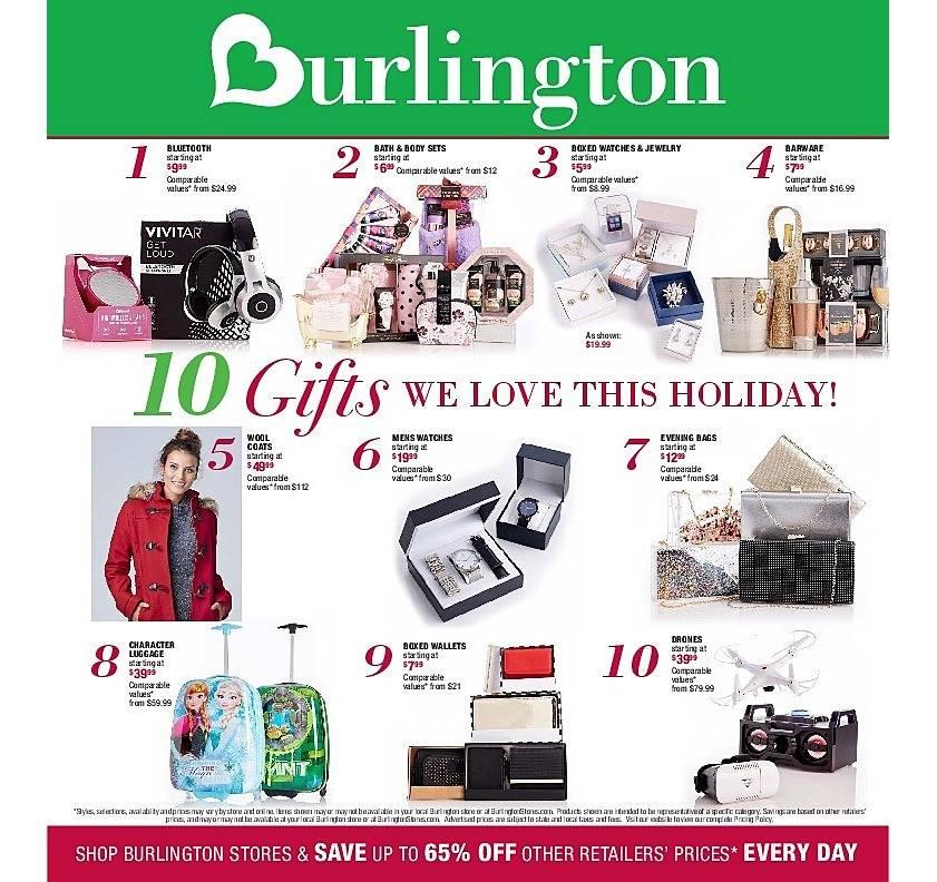 Burlington Coat Factory 2017 Black Friday Ad Page 1