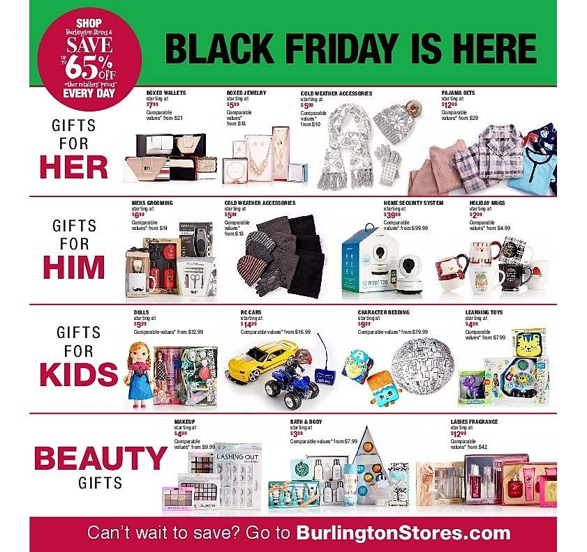 Burlington Coat Factory 2017 Black Friday Ad Page 2