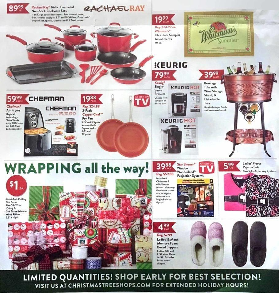 Christmas Tree Shops 2017 Black Friday Ad