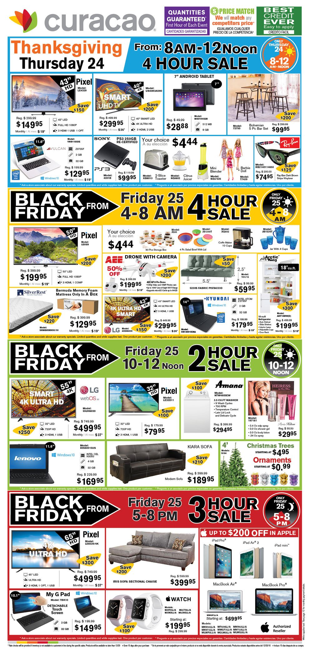 Curacao 2016 Black Friday Ad Page 1