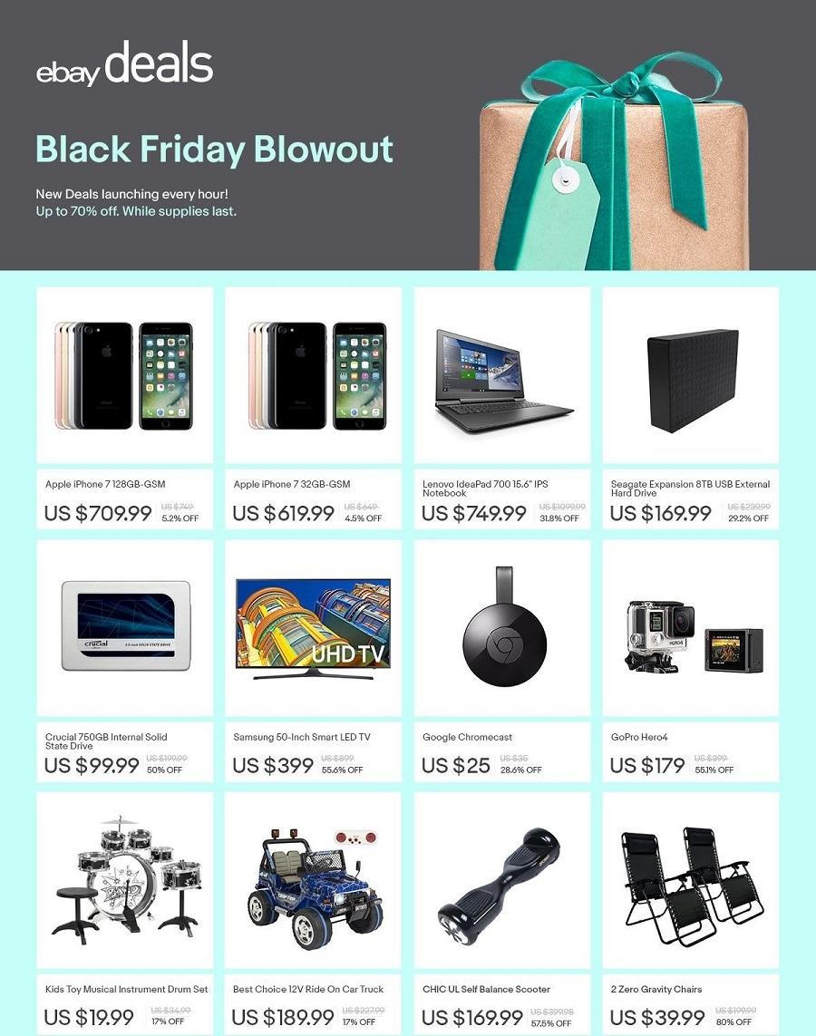 eBay 2016 Black Friday Ad Page 1