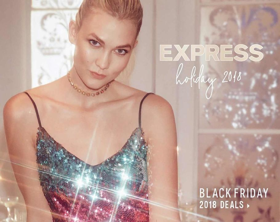 Express 2018 Black Friday Ad Page 1