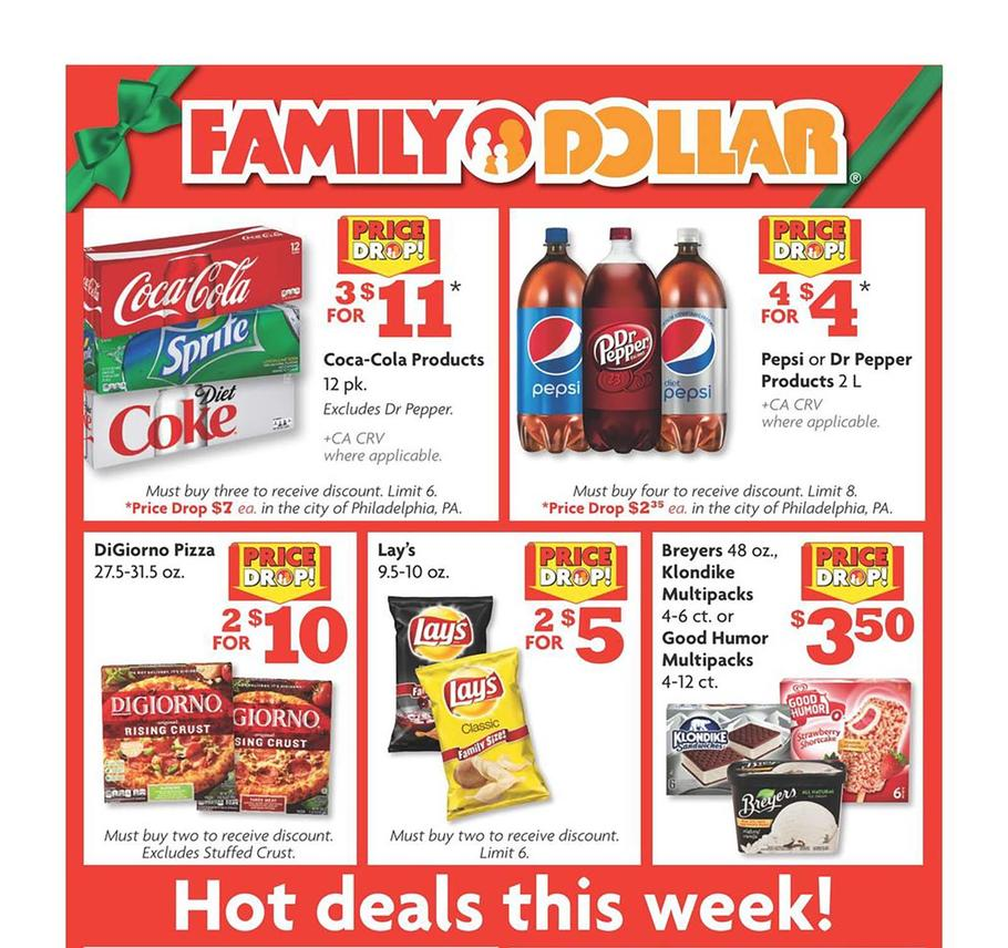 Family Dollar 2018 Black Friday Ad Page 1