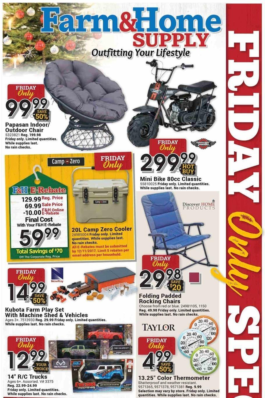 Farm & Home Supply 2017 Black Friday Ad Page 1