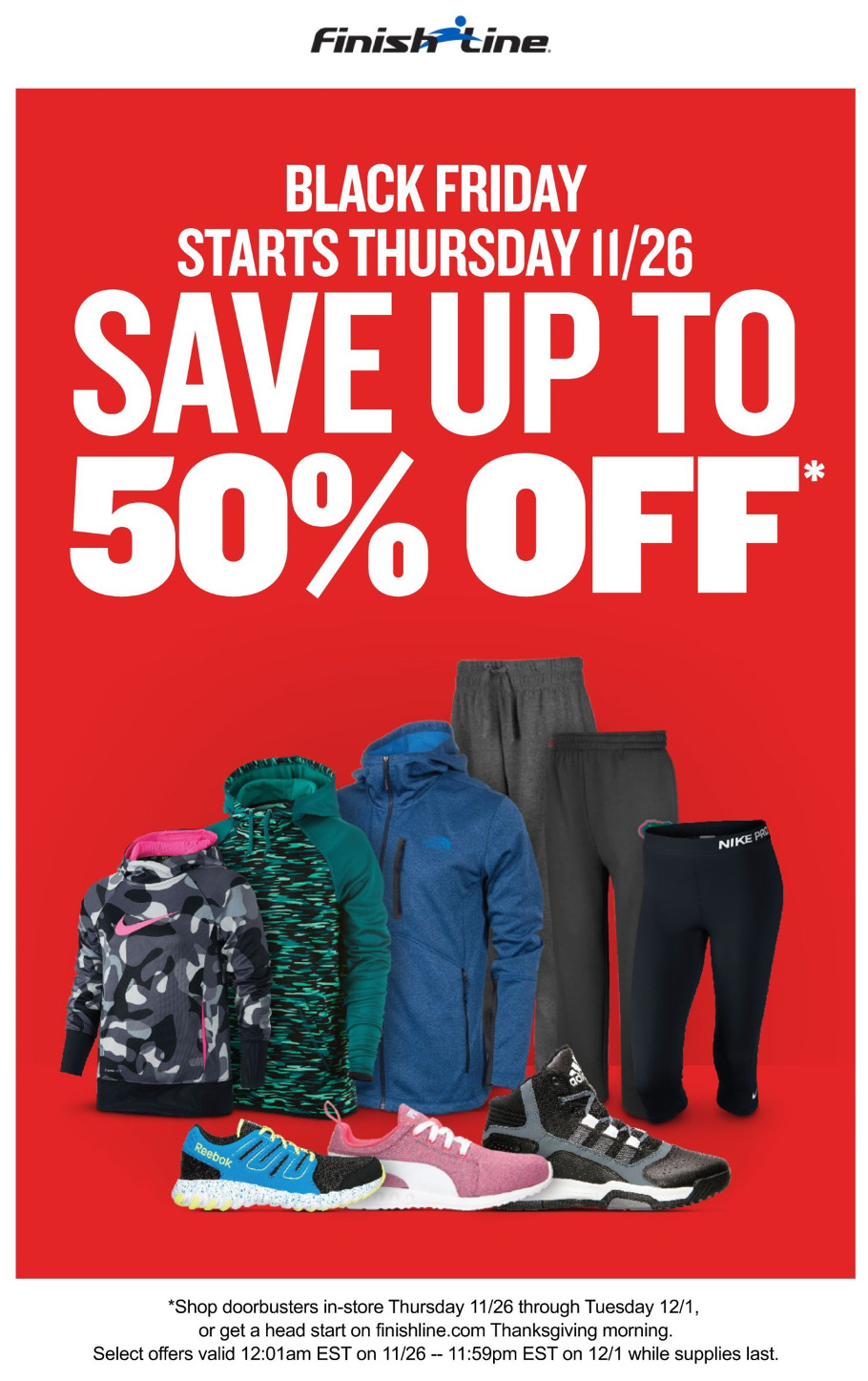 Finish Line 2015 Black Friday Ad Page 1