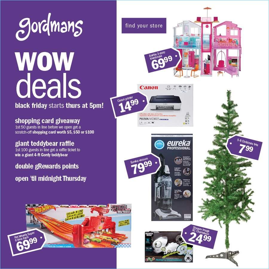 Gordmans 2018 Black Friday Ad Page 1