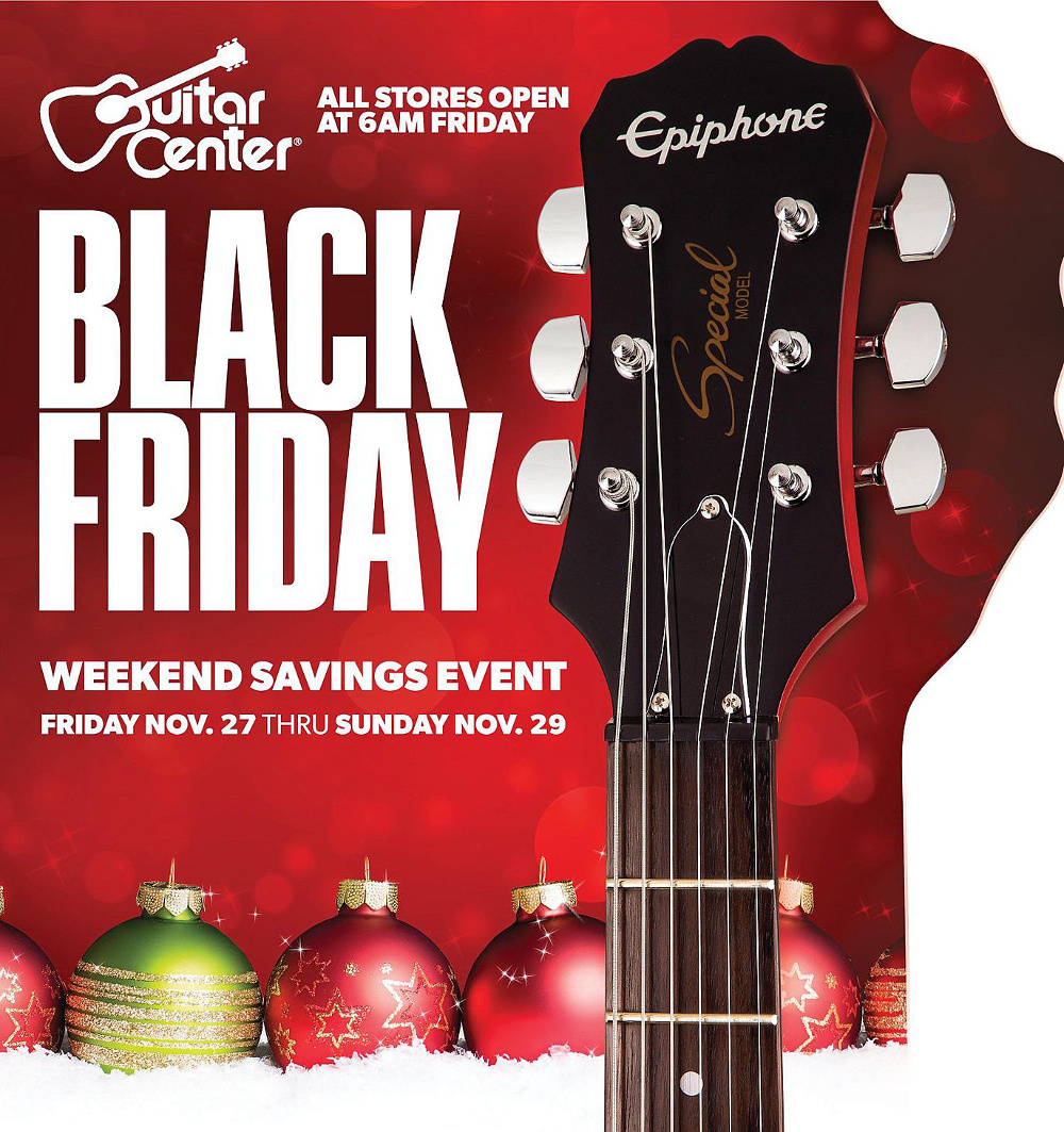 Guitar Center 2015 Black Friday Ad Page 1