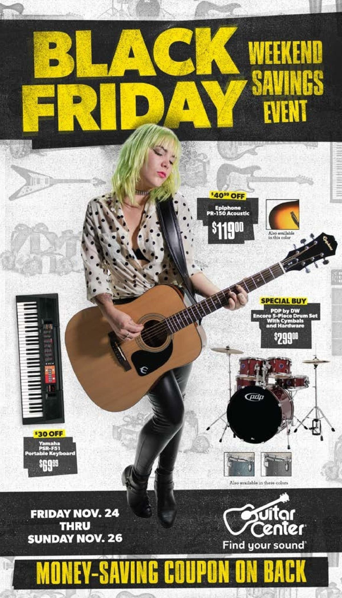 Get the best price on Clearance Sale at Guitar Center. Most Clearance Sale are eligible for free shipping.