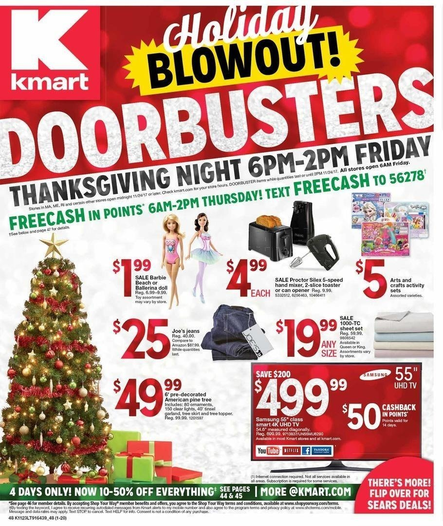 Kmart 2017 Black Friday Ad Page 1