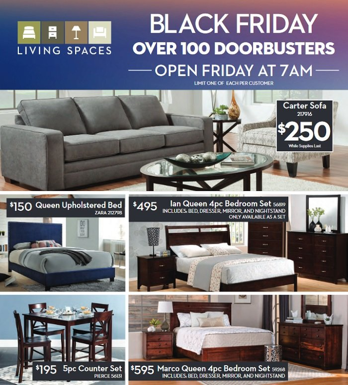 living spaces 2017 black friday ad