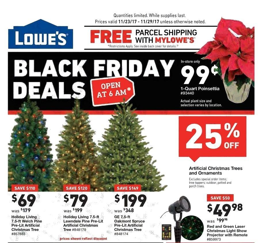 Lowe's 2017 Black Friday Ad Page 1