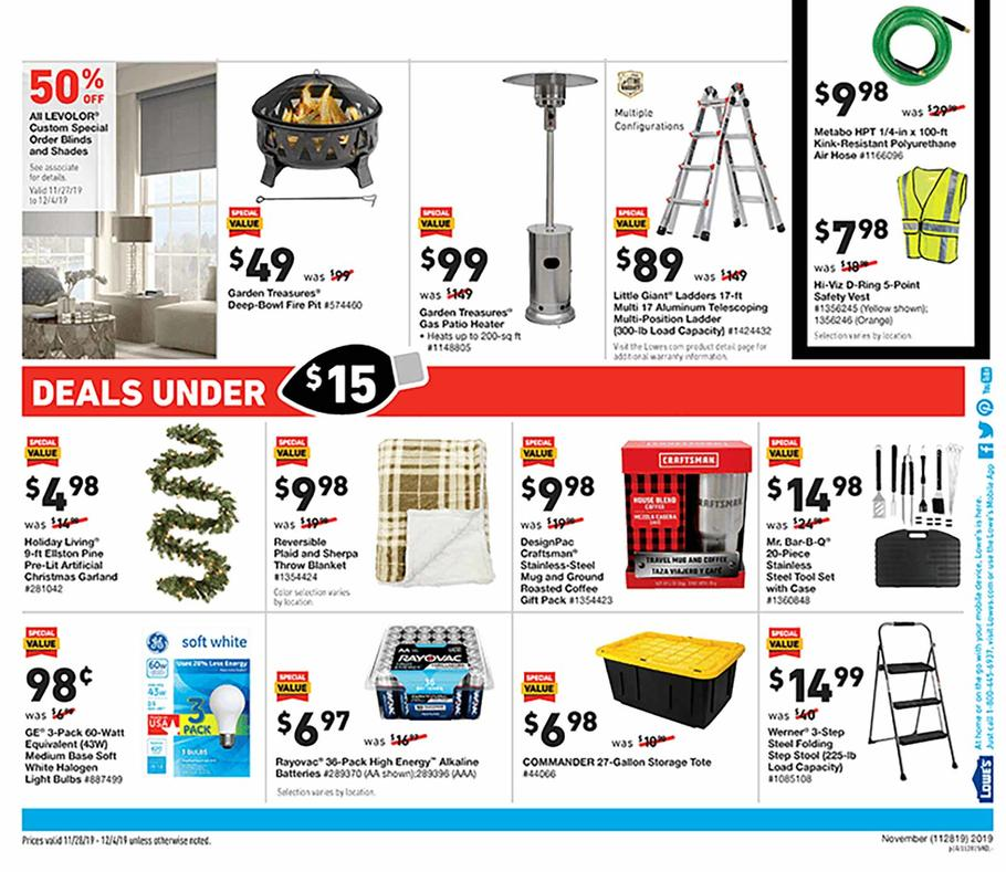 Lowe S 2019 Black Friday Ad Frugal Buzz