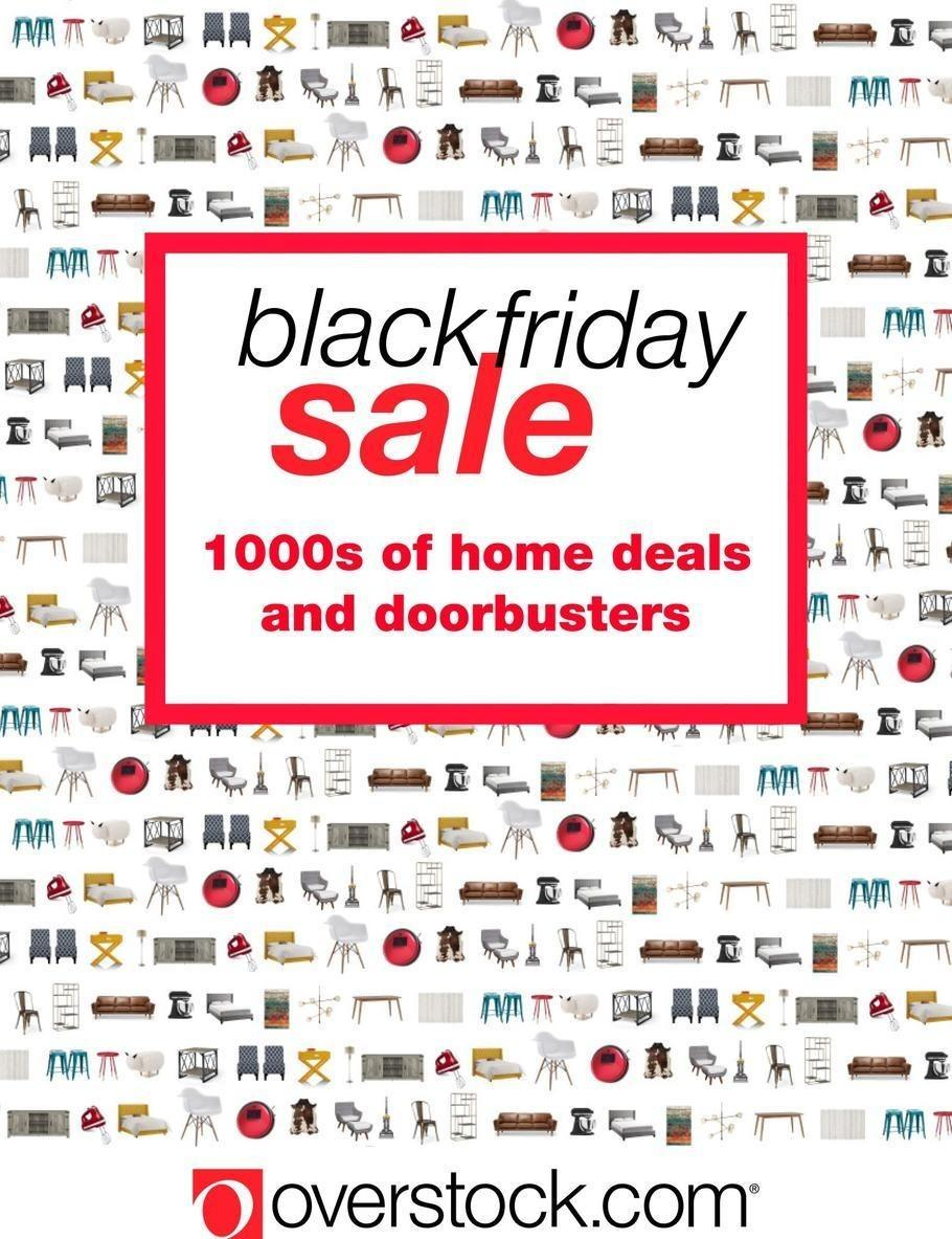 Overstock 2017 Black Friday Ad Page 1
