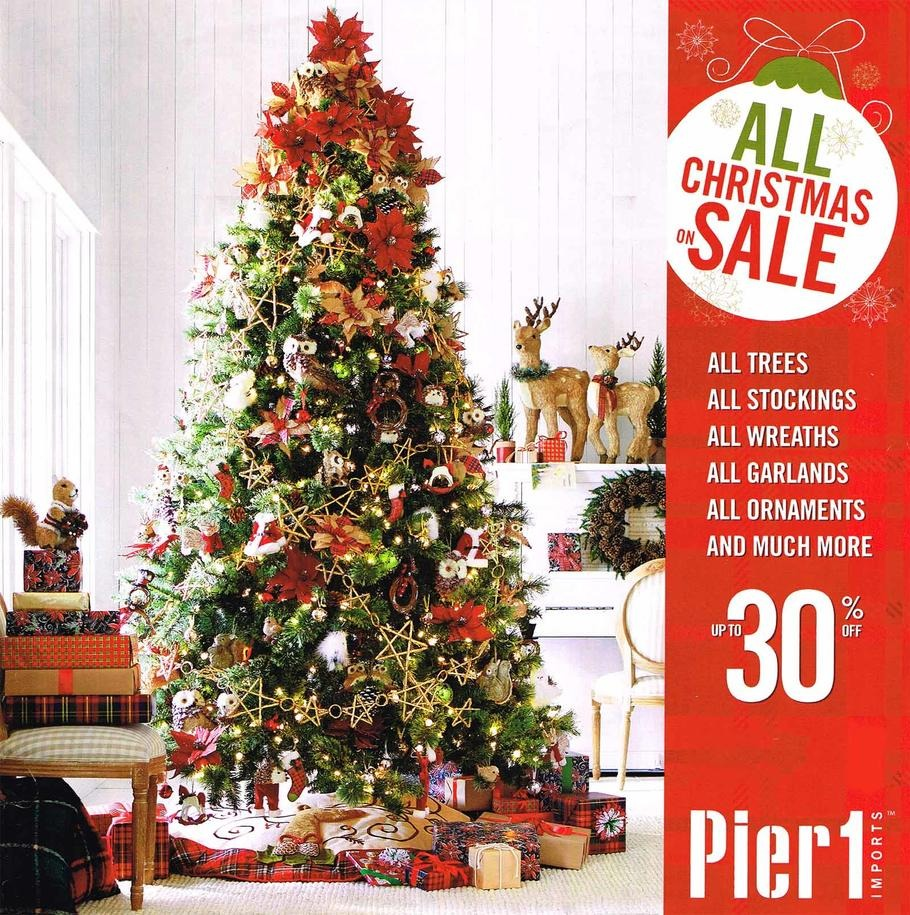 Pier 1 Imports 2015 Black Friday Ad Page 1