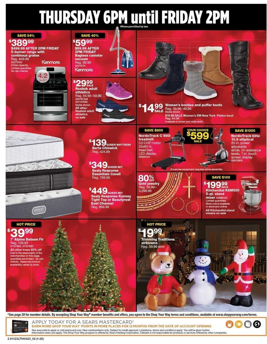 Sears 2017 Black Friday Ad Page 2