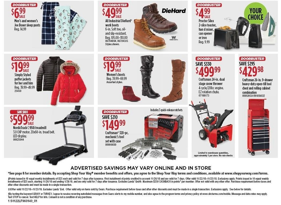 Sears 2018 Black Friday Ad Page 2
