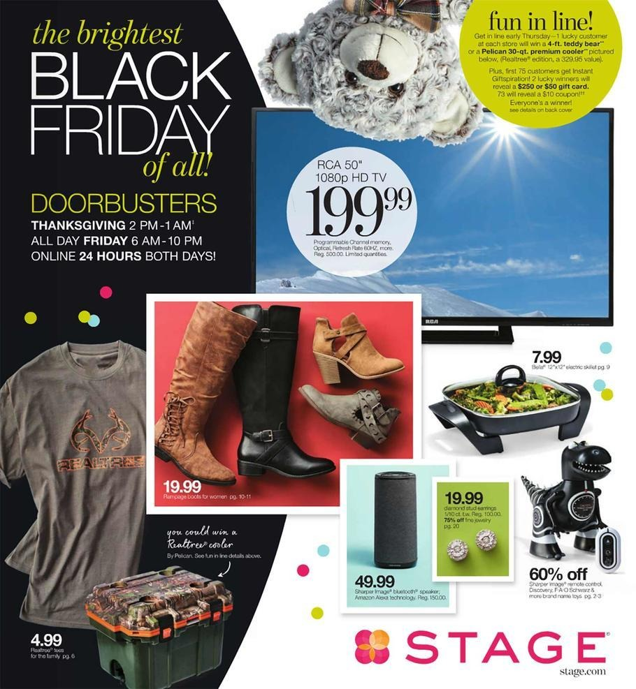 Stage Stores 2017 Black Friday Ad Page 1