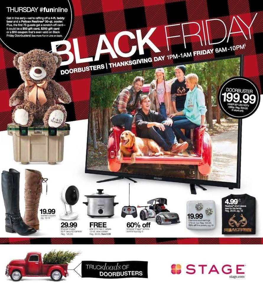 Stage Stores 2018 Black Friday Ad Page 1
