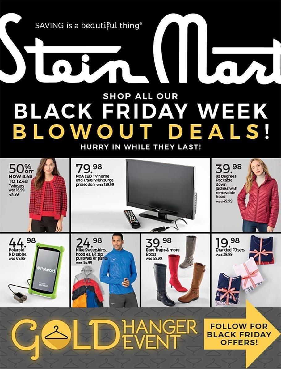 Stein Mart 2018 Black Friday Ad Page 1