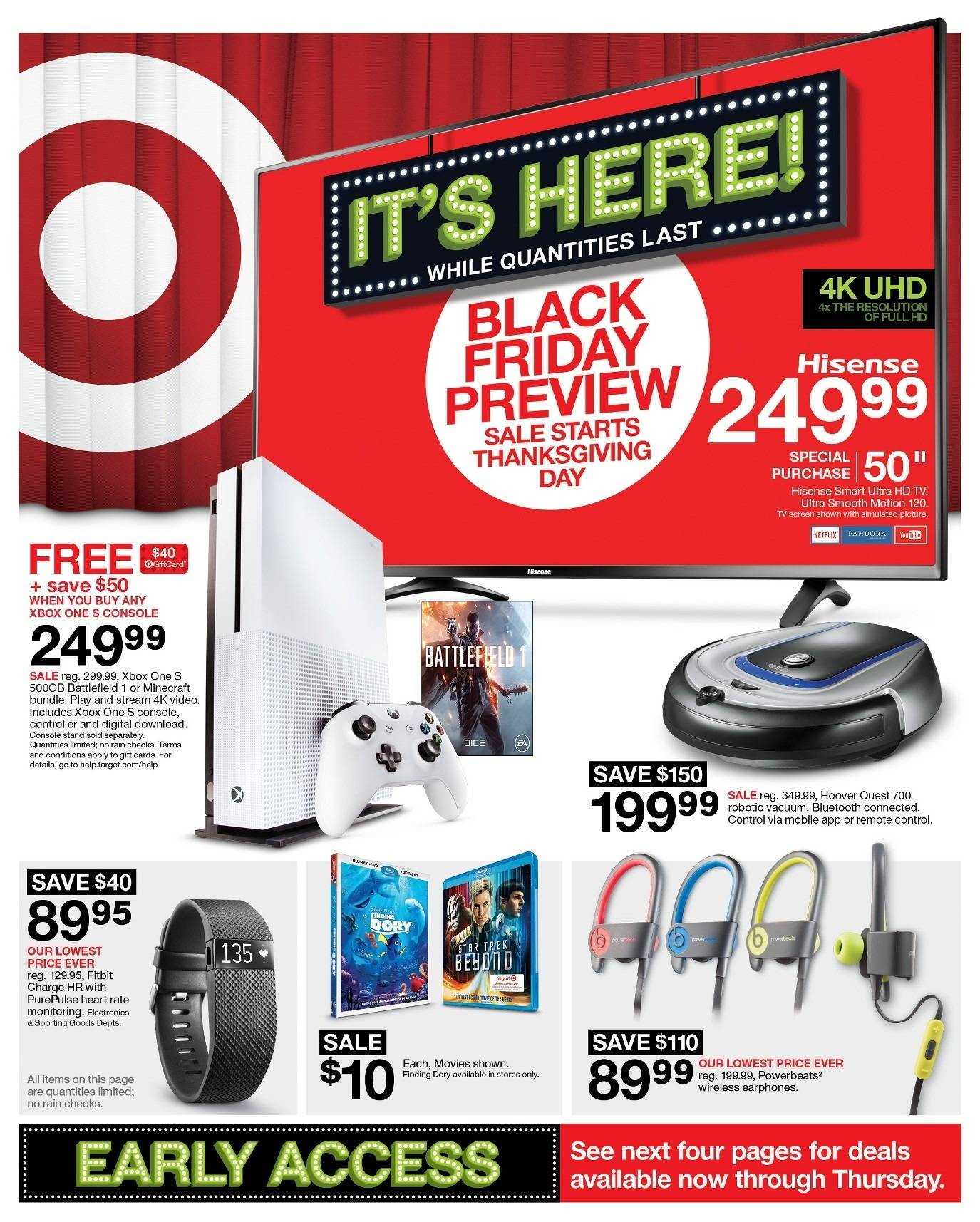 Target 2016 Black Friday Ad Page 1