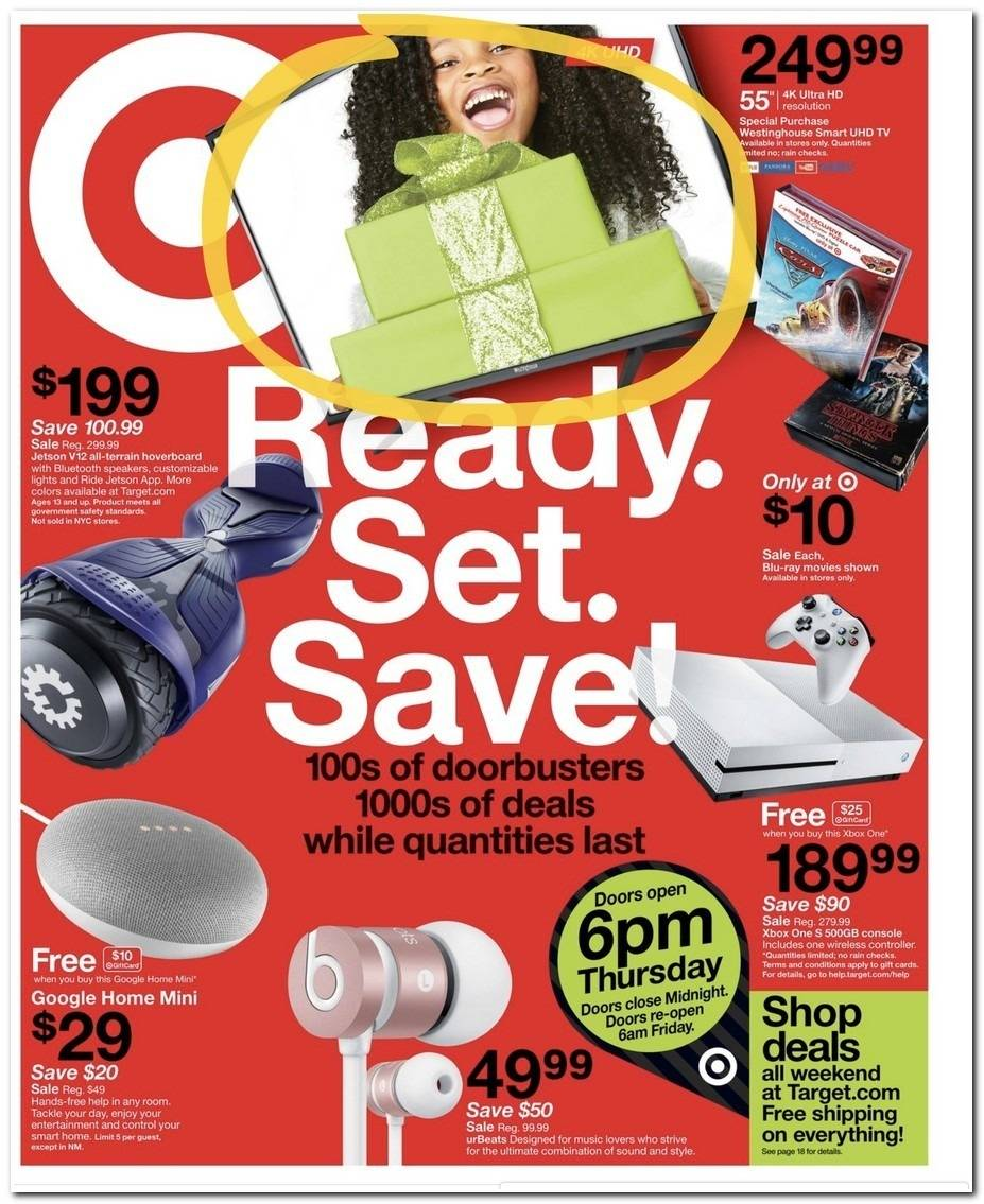 Target 2017 Black Friday Ad Page 1