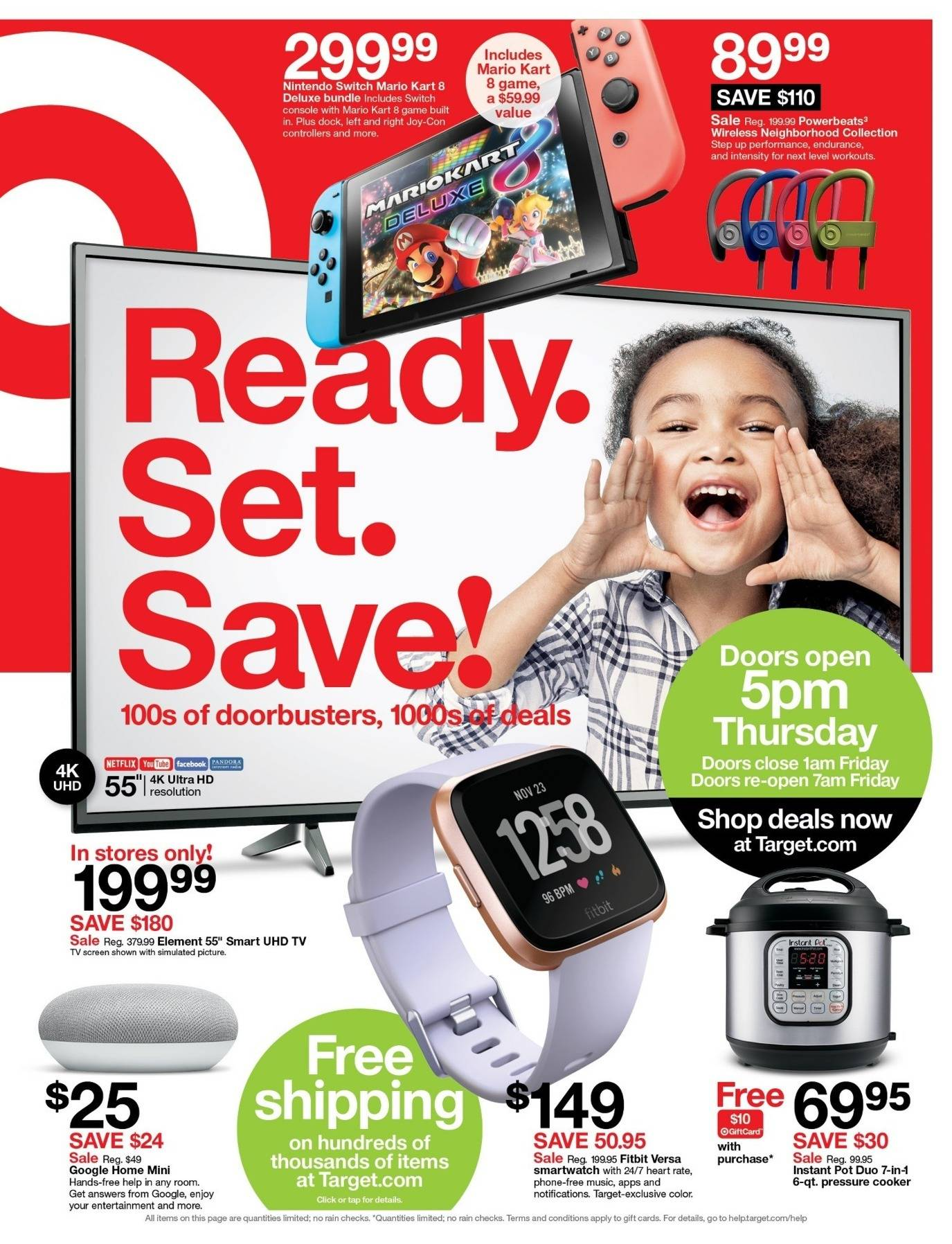 Target 2018 Black Friday Ad Page 1