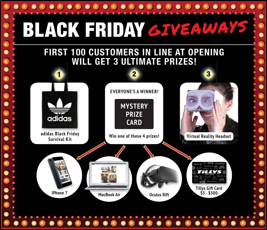 Tilly's 2016 Black Friday Ad Page 1
