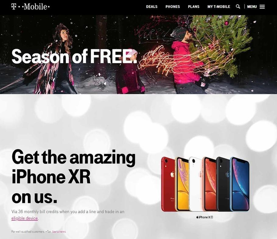 T-Mobile 2018 Black Friday Ad Page 1