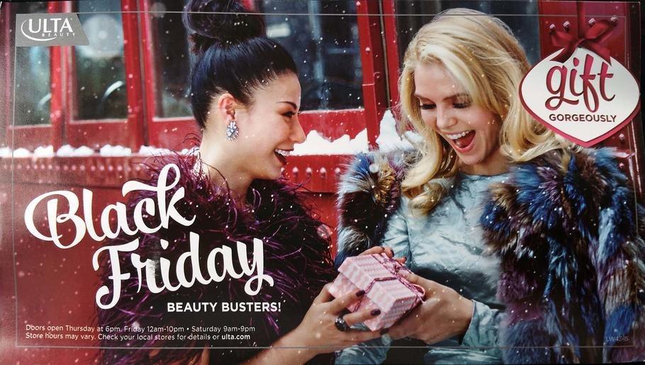 ULTA Beauty 2015 Black Friday Ad Page 1