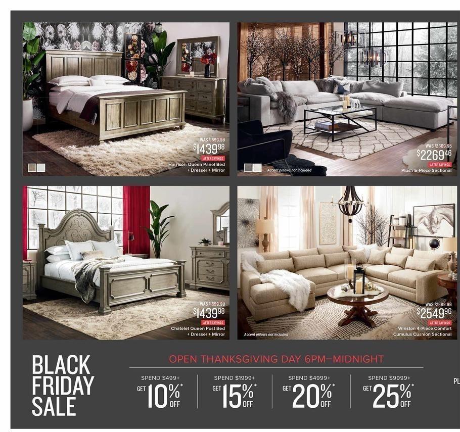 Furniture Sales Black Friday: Value City Furniture 2018 Black Friday Ad