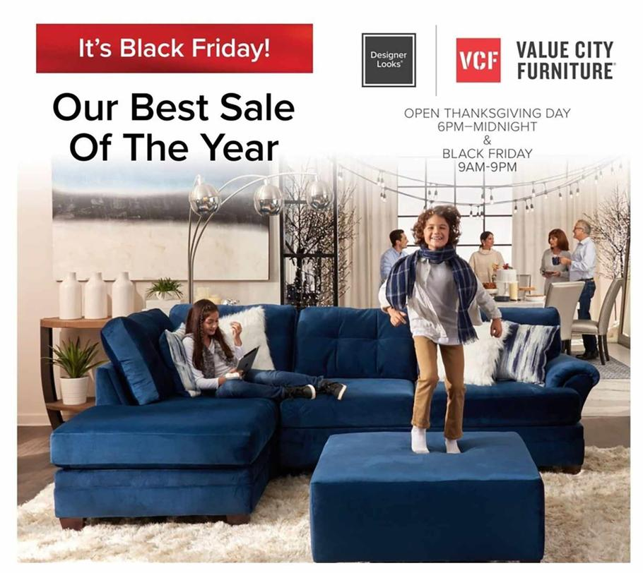 Value City Furniture 2019 Black Friday Ad   Frugal Buzz