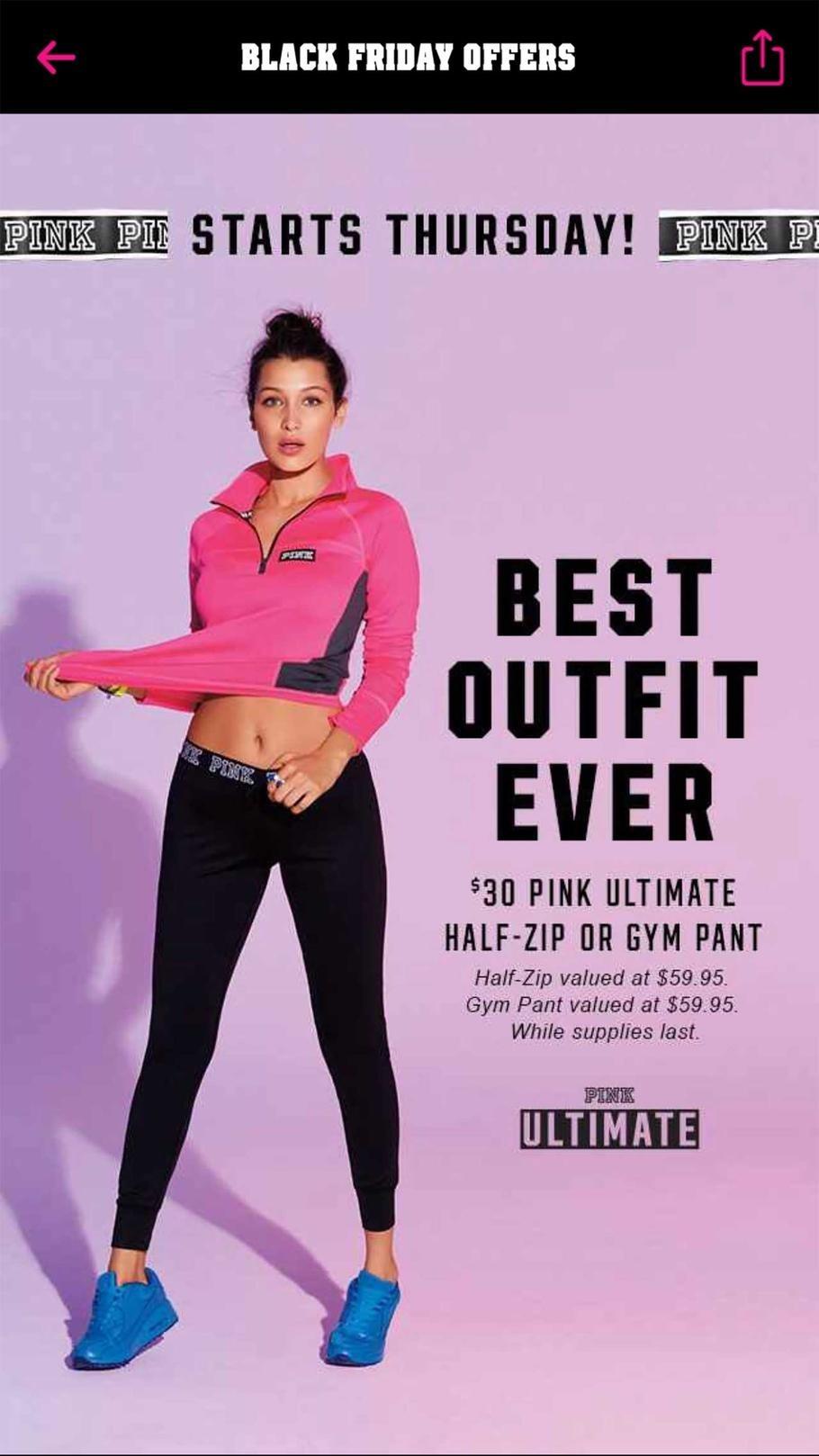 Victoria's Secret 2015 Black Friday Ad Page 1