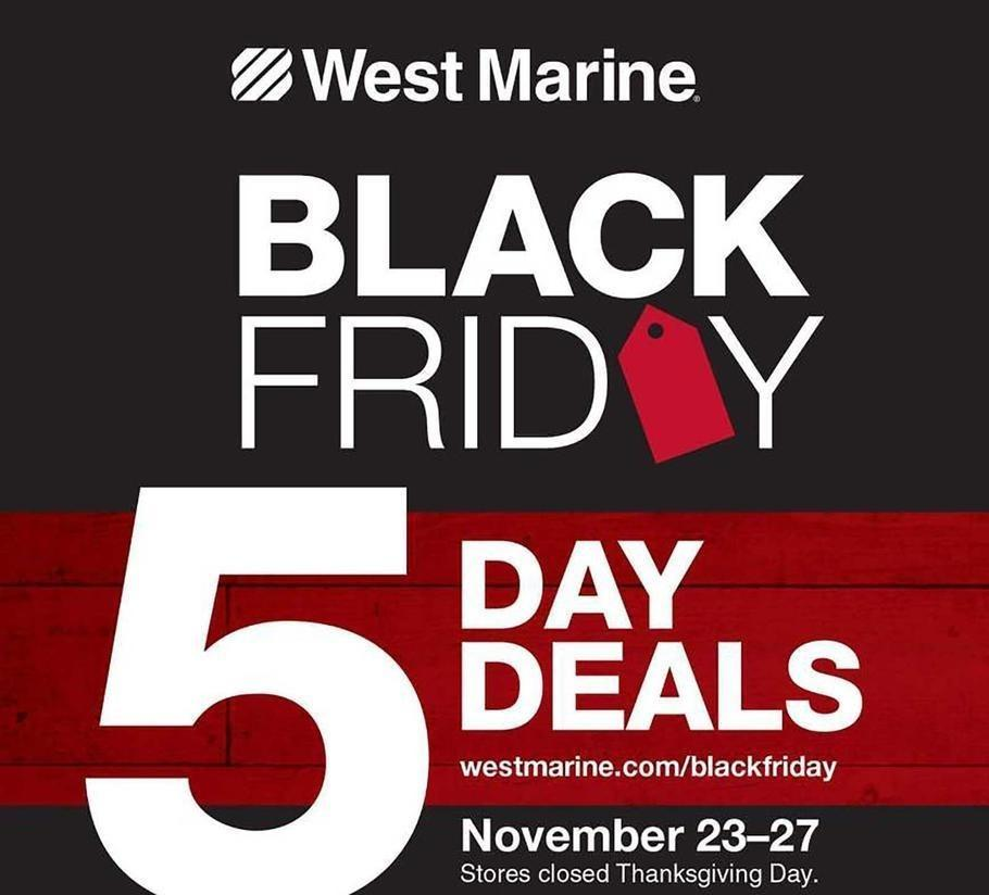 West Marine 2017 Black Friday Ad Page 1