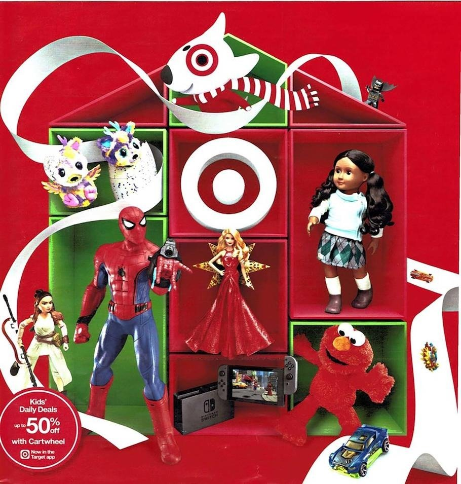 Target Christmas Toys : Target holiday toy book frugal buzz