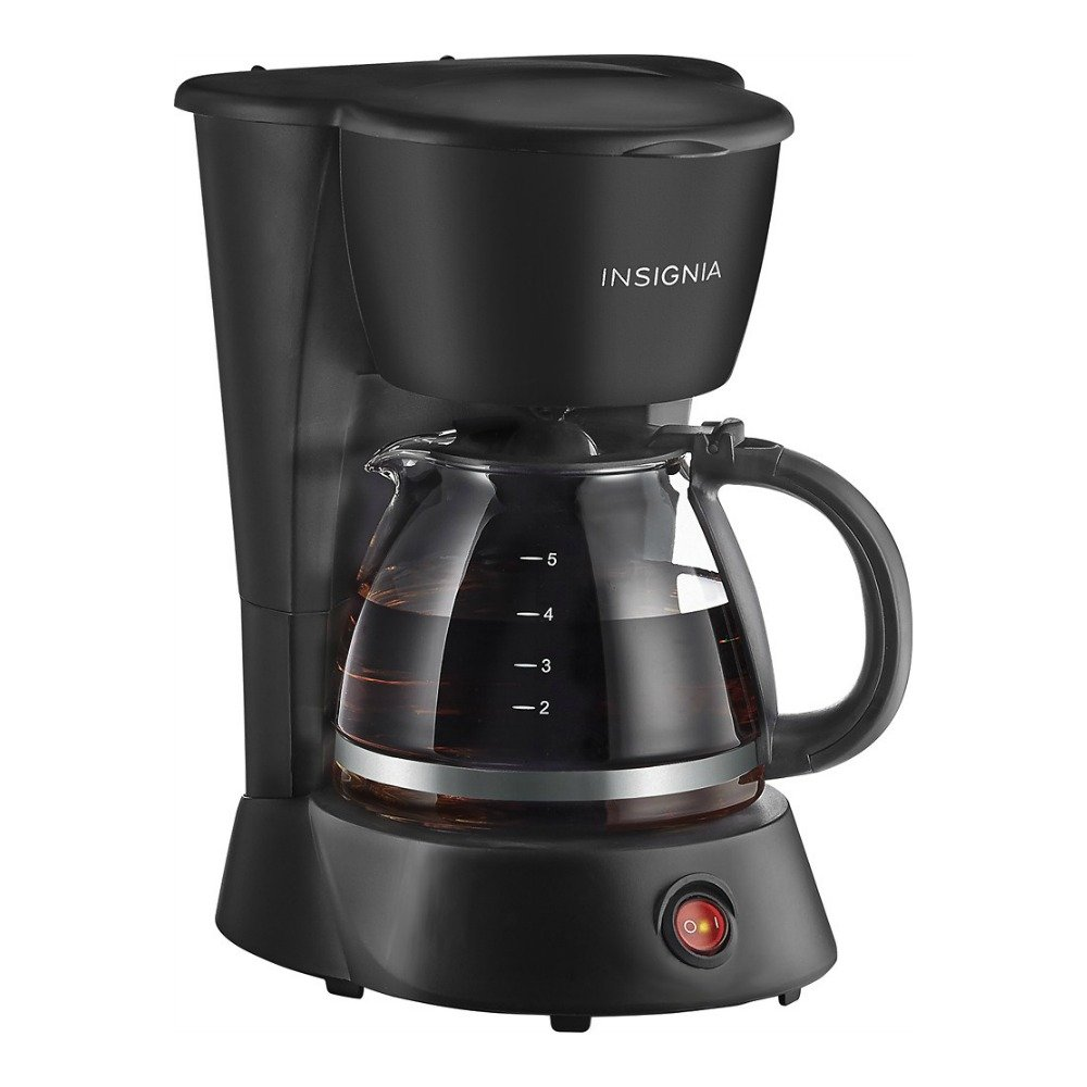 Insignia NS-CM5CBK6 5-Cup Coffee Maker