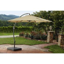 Garden Oasis 11.5 Ft. Steel Round Offset Umbrella