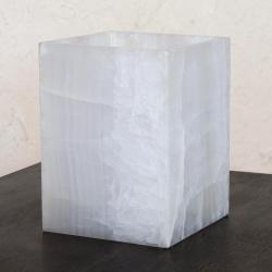 Novica Handcrafted Onyx 'Puebla Dawn' Accent Lamp Medium