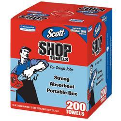 Kimberly-Clark Scott Shop Towels Original (8 Boxes of 200)