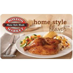 $25 Boston Market Gift Card