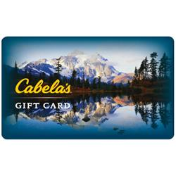 $50 Cabelas Gift Card