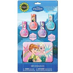 Frozen 4 Pack Nail Polish With Case